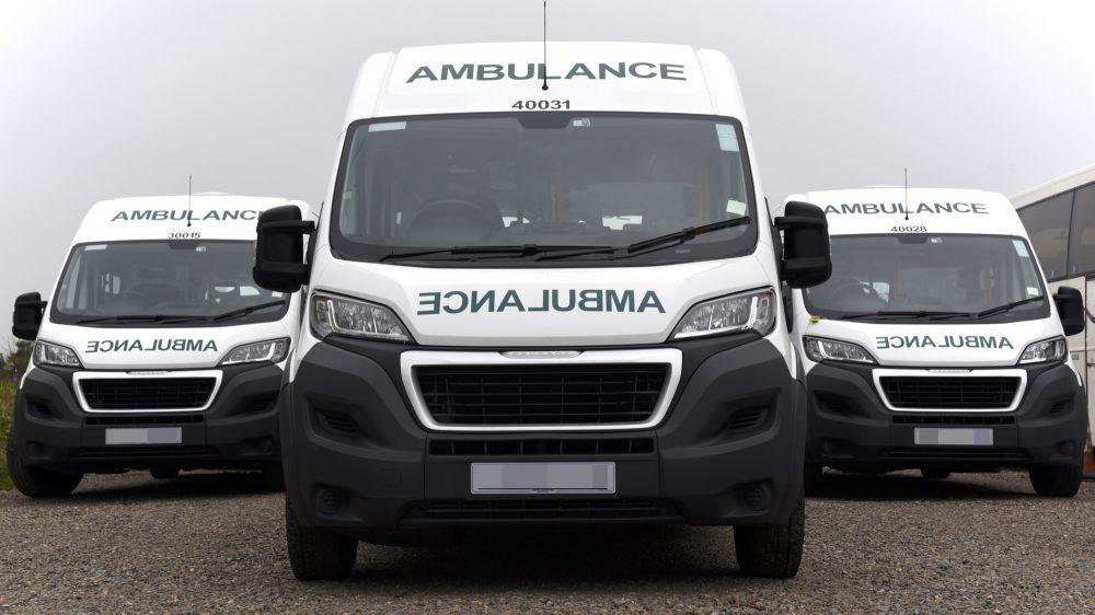 WMAS PTS Ambulances