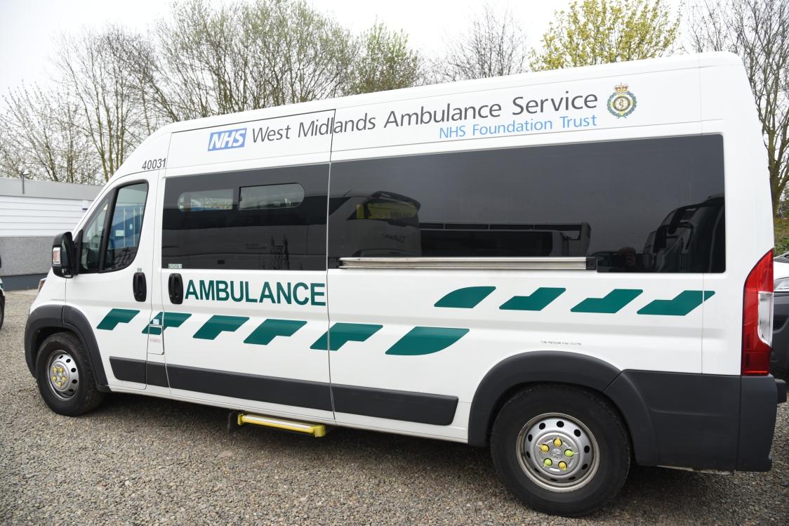 WMAS Patient Transport Service vehicle