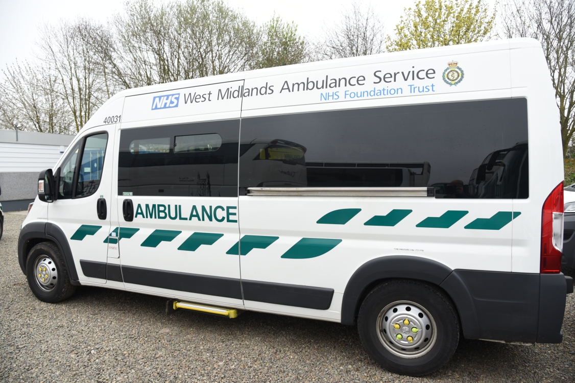 WMAS Patient Transport Service vehicle